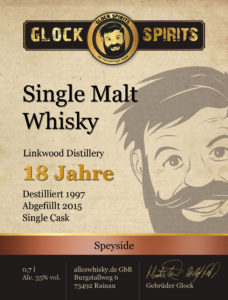 Glock Spirits Single Malt Whisky