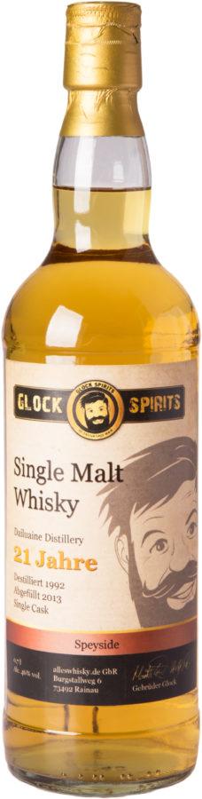 Glock Spirits Single Malt Whisky 21 Jahre